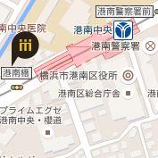 港南中央店地図