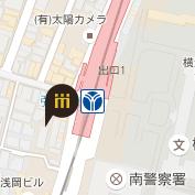 地下鉄弘明寺店地図