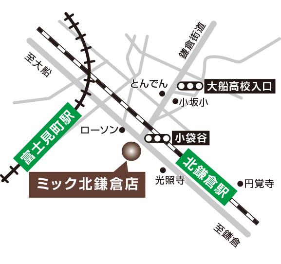 北鎌倉店地図